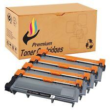 Set of 4 PK Black TN660 TN630 Toner For Brother MFC-2720DW HL-L2320D New In Box
