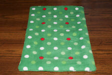 New Christmas Holiday Fleece Dog Cat Pet Carrier Blanket Pad Free Shipping! Bcr