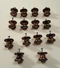 Drawer Knobs Lot of 14 Copper Color Kitchen Bathroom Decorative Hardware