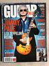 Jimmy Page No Quarter TAB SRV Dio Scorpions Mustaine Guitar World USA magazine