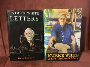 Patrick White: A Life and Patrick White: Letters by David Marr (Hardbacks)