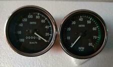 85 Mm Smiths Replica Speedometer And Tachometer Mechanical M18x15 Thread Kph