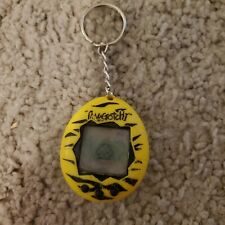 Original 1997 Tamagotchi Yellow Tiger Stripe - Working with Defects
