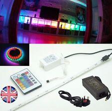 Qualità industriale 5 metri multicolore LED STRIP, Alimentatore, TELECOMANDO FLASHER