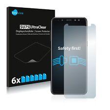 6x Displayschutzfolie Samsung Galaxy A8 (2018) Schutzfolie Klar Folie