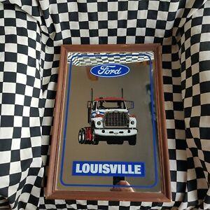 Rare Ford Louisville Bar Mirror man cave truck semi lorrie truckie