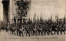 CPA PARIS Les Fetes de la Victoire 1919 Les Drapeaux Anglais (218819)