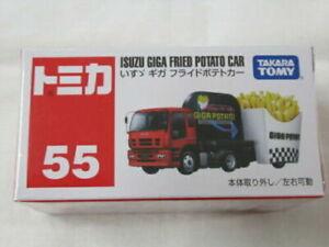 No.55 Tomica Isuzu Giga frites takara tomy cars neuf  voiture camion min