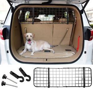 Universal Car Dog Guard Adjustable Pet Safety Barrier Headrest Travel Fence Mesh