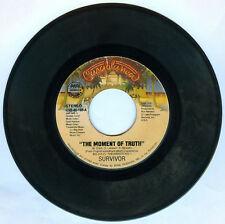 Philippines SURVIVOR The Moment Of Truth 45 rpm Record