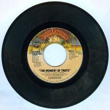 Philippines SURVIVOR The Moment Of Truth 45 rpm Record
