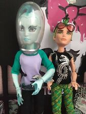 Monster High Deuce Gorgon & Gil Webber Manster muñecas gran condición 💕