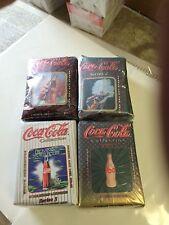 COCA-COLA Card Set Lot Series 1,2,3,4