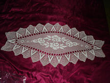 #163 Beautiful Vintage Handmade Table Runner