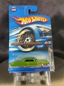 Hot Wheels Pontiac Bonneville #99 Red Lines 💚
