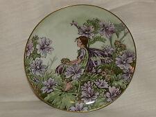 "Plate flower fairies CICELY MARY BARKER ""The Mallow Fairy"""