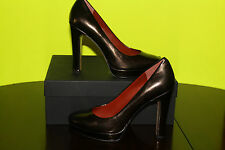 MARC BY MARC JACOBS 625982 GUNMETAL LEATHER UPPER #7us $295