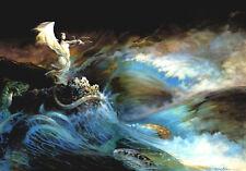 Authentic Frank Frazetta Print #42 SEA WITCH  22 X 15