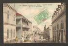 SAINT-LOUIS (SENEGAL) RUE de la MOSQUEE trés animée en 1909