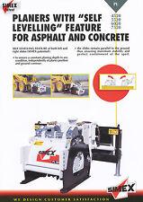 Simex PL 4520 5520 6020 7520 Planers brochure Prospekt 3/01 2001 Baumaschinen