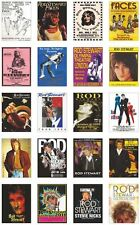 Rod Stewart Concert Posters Trading Card Set