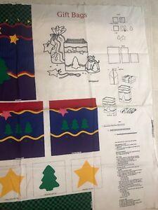 Dreamspinners VIP Gift Bag Fabric Panel Uncut