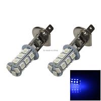 2x Blue Car H1 Head Light Front Blub 18 Emitters 5050 SMD LED P14.5s H004
