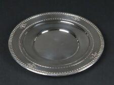 """Dominick Haff sterling silver solid Windsor pattern plate antique vtg 9.5"""" 279g"""
