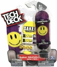 New ULTRA RARE Tech Deck BAKER Fingerboards Skateboards Sk8 Series 7 Reynolds