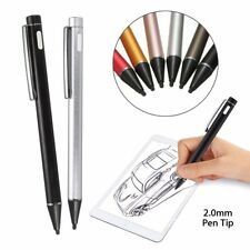 2mm Rechargeable Touch Active Stylus Drawing Pen for Tablet iPad Android iPhone