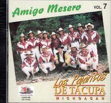 Super Banda Los Pajaritos De Tacupa Michoacan Amigo Mesero CD New Sealed