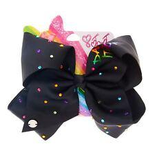 JoJo Bows Signature 2X 1X Large Bows Cupcake/&Black Diamante Girls Xmas present