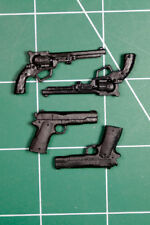 Custom Arsenal pack resin black cast 1:12 colt long revolver legends m1911
