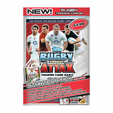 Topps RUGBY ATTAX Rugby World Cup Trading Cards Starter Kit.