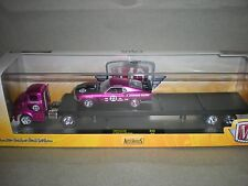 1/64th M2 Auto Haulers 1956 Ford COE & 1970 Ford Mustang Purple