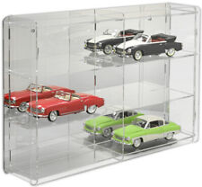 Sora-showcases 1:18 scale model car display case cabinet. Mirrored back.