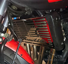 SUZUKI BANDIT GSF 650 STAINLESS STEEL RADIATOR COVER GUARD GRILL