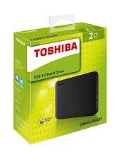 2 TB Toshiba  canvio Ready usb 3.0 portable hard drive (NEW) UK seller