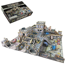 Battle Systems Scifi Terrain Frontier Core Set - Modular Card 40k Necromunda THG