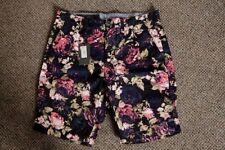 Cotton Loose Fit Floral Shorts for Men