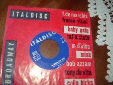 """MINA  """" IMPROVVISAMENTE - IL SOLDATO GIO'  """" ITALY'62"""
