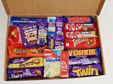 Huge 20 Bar Chocolate Gift Box Hamper Cadbury Nestle Malteser Reeses FREE P&P