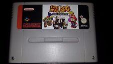 Super mario RPG SNES Super Nintendo PAL in english