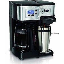 Hamilton Beach 49983 2 Way FlexBrew Coffee Maker Strength Control Setting Black
