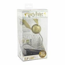 More details for harry potter golden snitch lumi clip light led book light