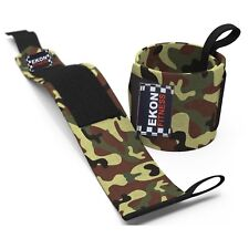 Brand new Wrist straps Power Weight lifting wrist wraps hand support  Camo