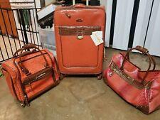 Samantha Brown Luggage Set Koi ORANGE