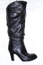 2 PRIMA bottes cavalières cuir noir P 37 TBE
