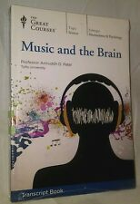 The Great Courses Music and the Brain New in Shrink Wrap
