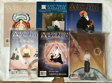 Aikido Today Magazine 6 Issue Bundle Vol. 8-9 1995 Excellent Condition